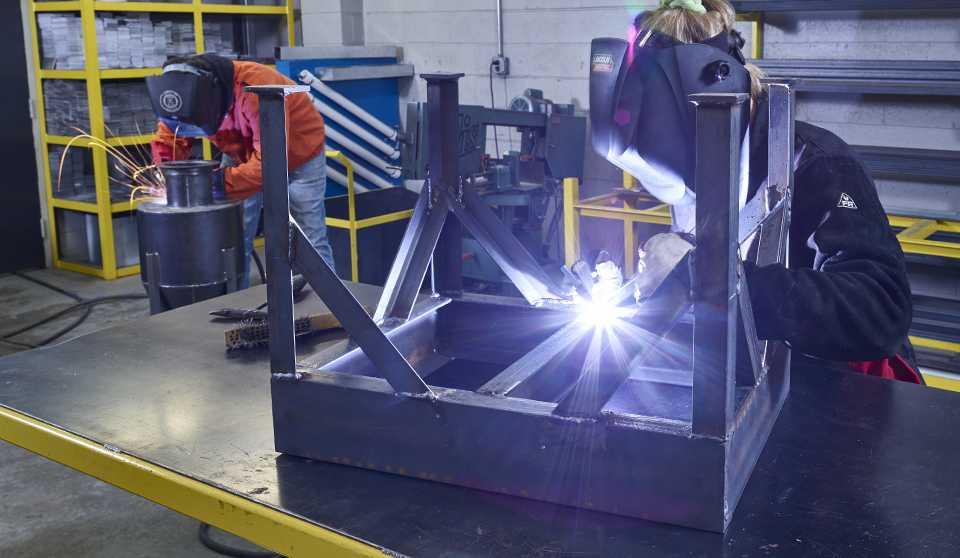 SMART Local 20 Union Sheet Meta Industry Sheet Metal Industrial Fabrication